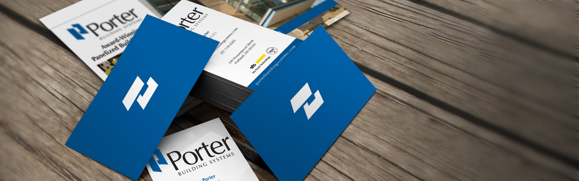 Porter Building Systems identity