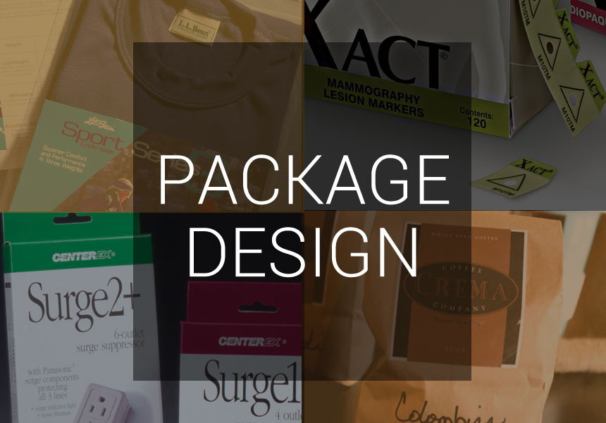 Package and label design