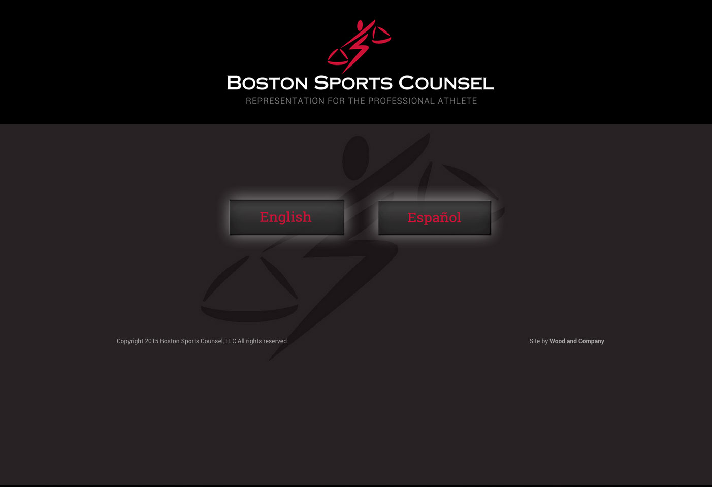 Boston Sports Counsel bilingual landing page