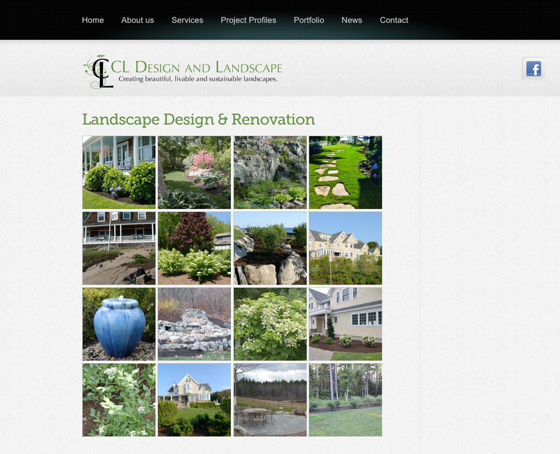 CL Design Website Portfolio