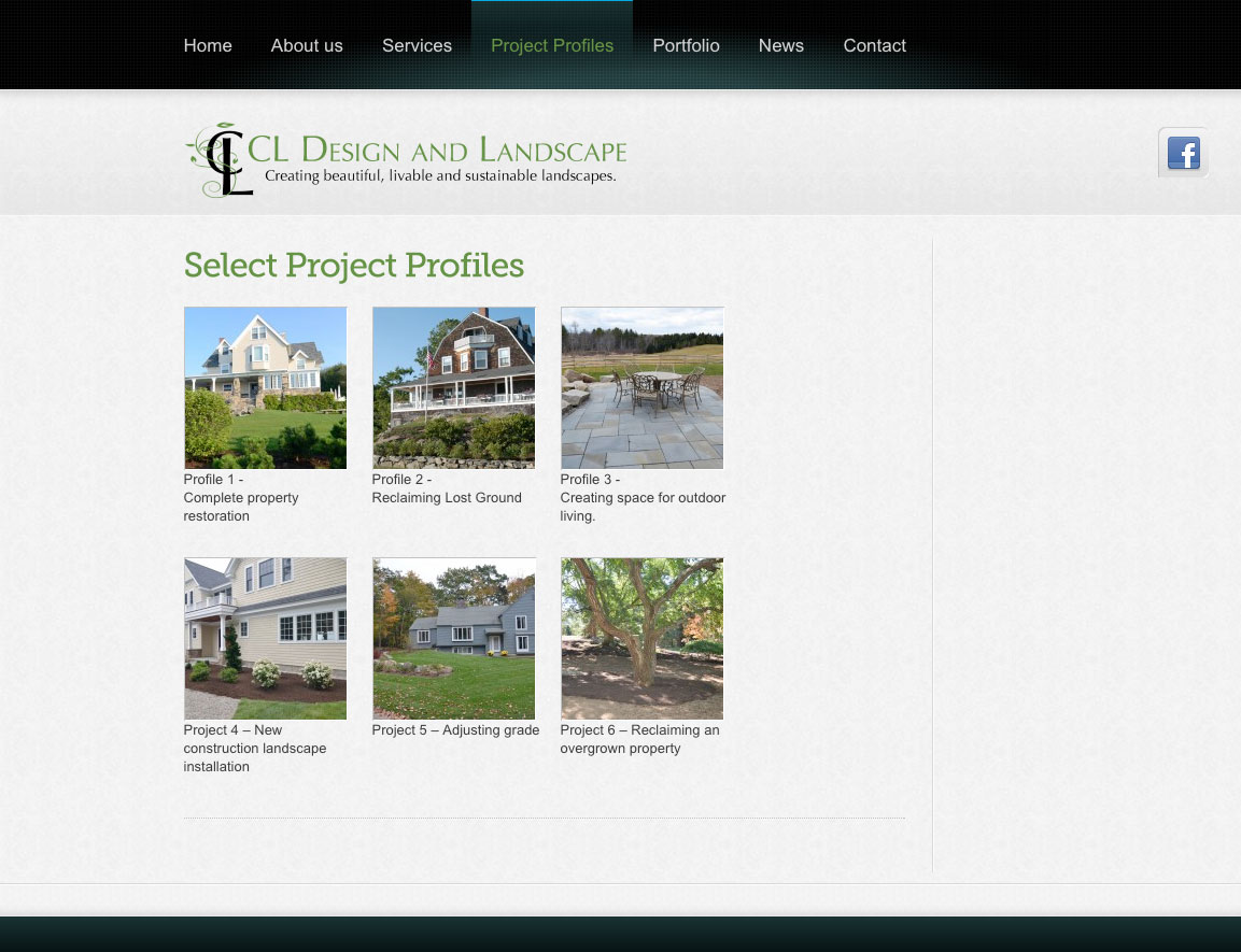 CL Design and Landscape Select Projects