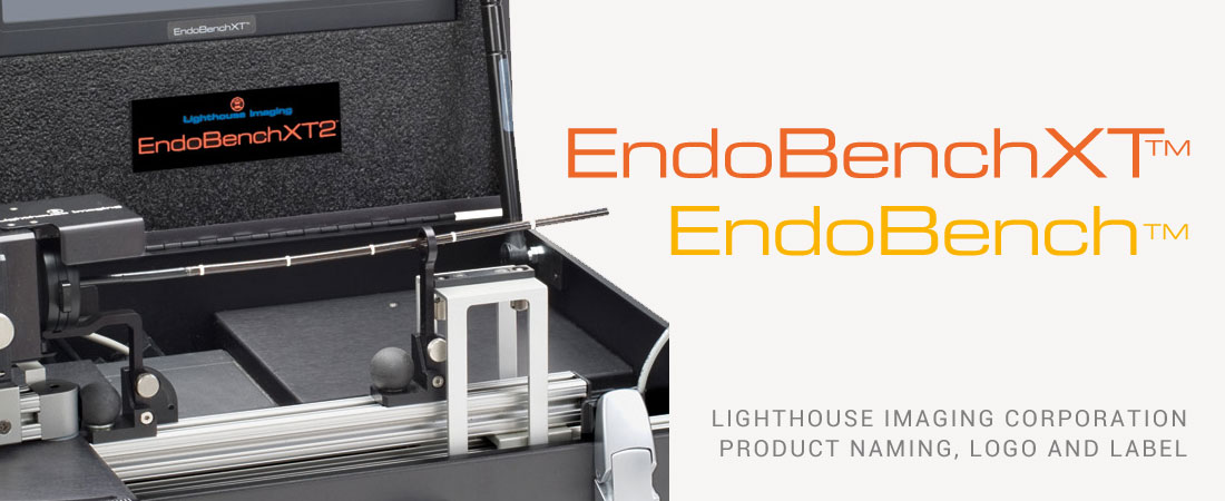 Wood and Company label design for EndoBenchXT