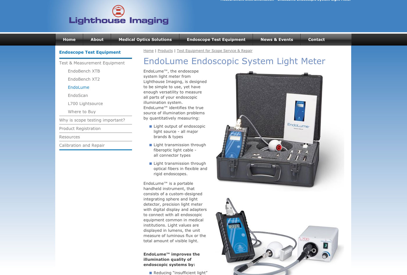 EndoLume Light Meter