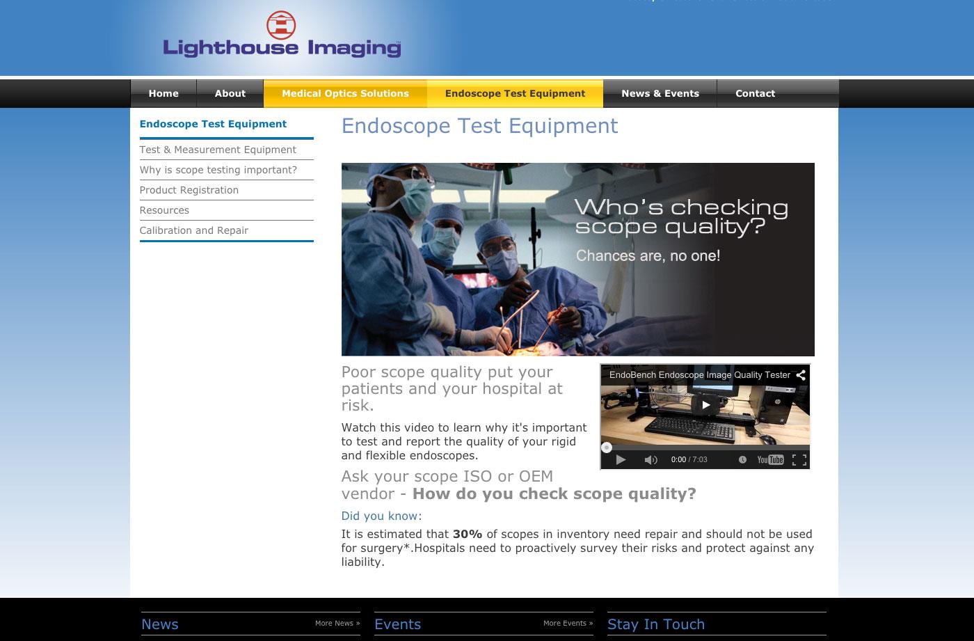 Endoscope Test Equipment