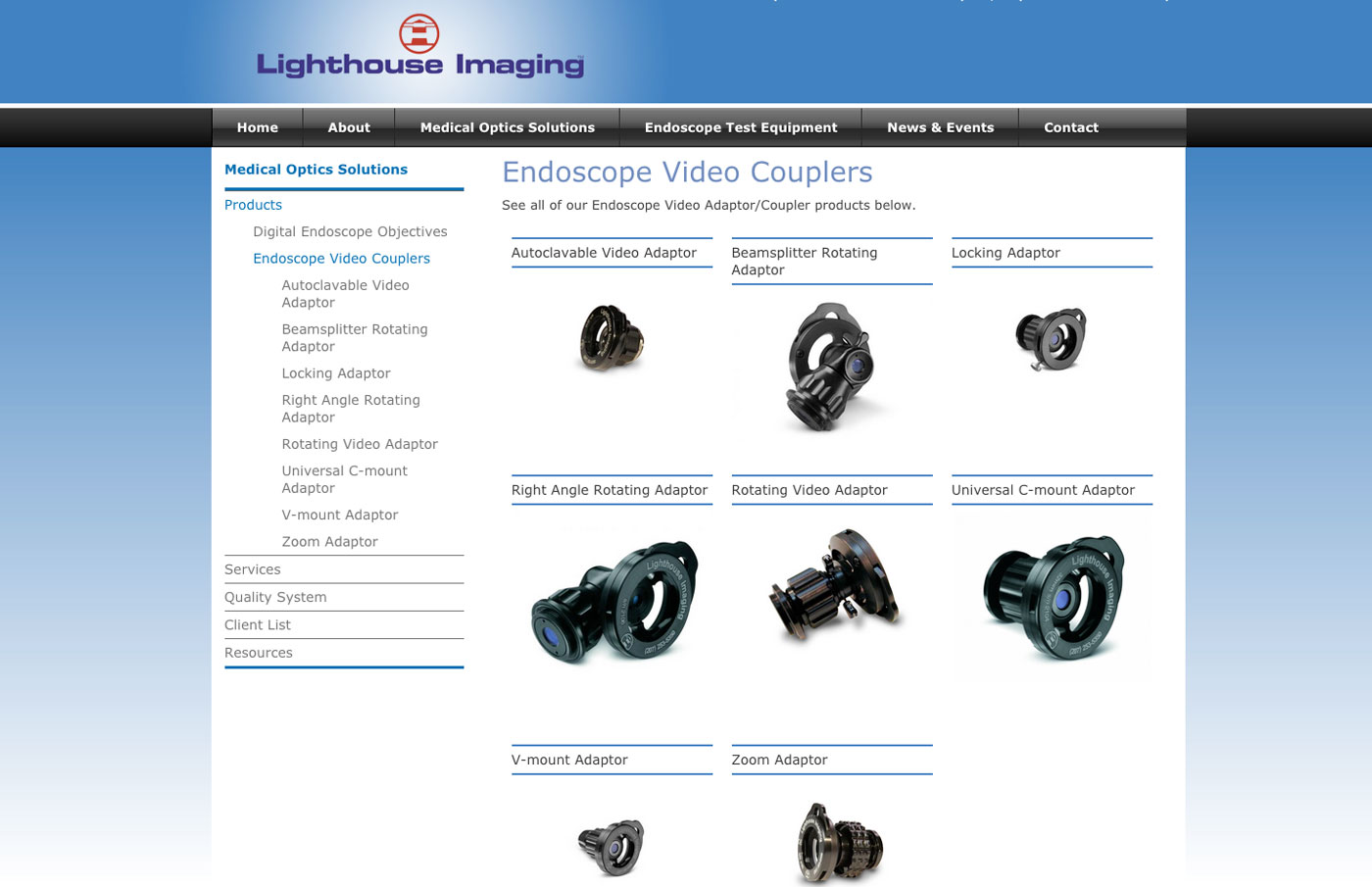 Endoscope Video Couplers