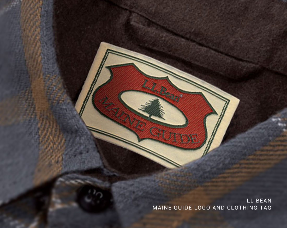 Logo design and label design for LL Bean