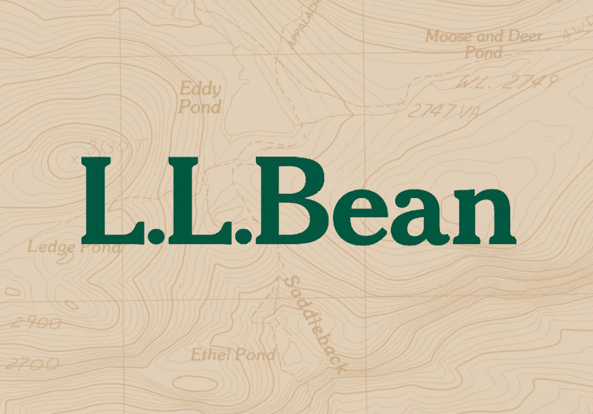 Print and package design for LL Bean