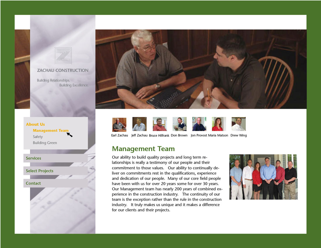 Zachau Website Management Team