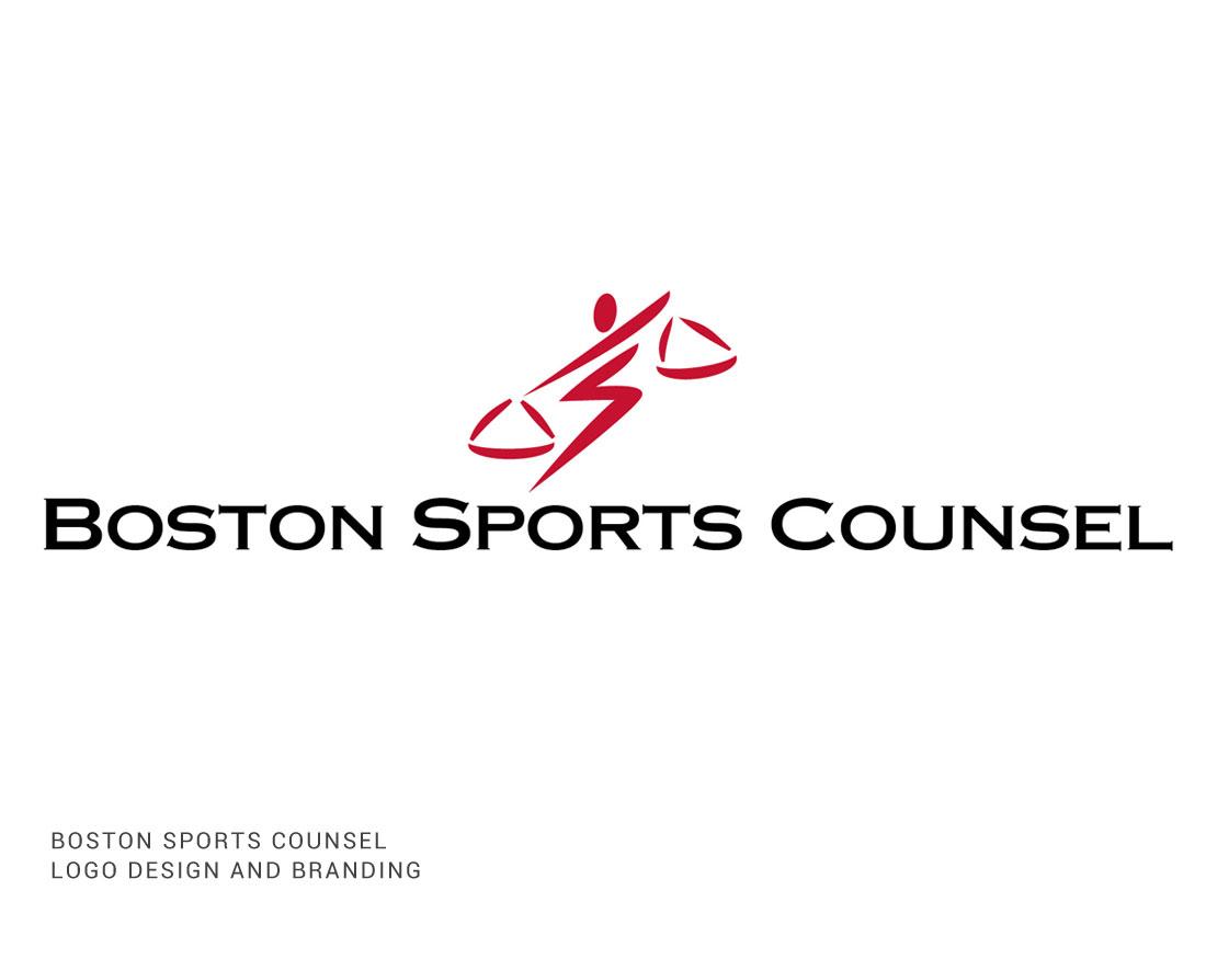 Boston Sports Counsel Logo Design