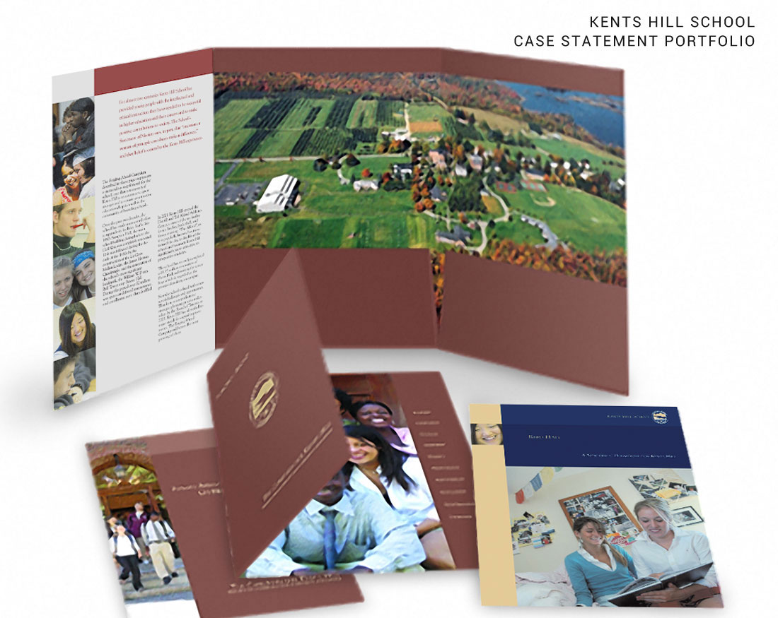 Brochure design for Case Statement Portfolio