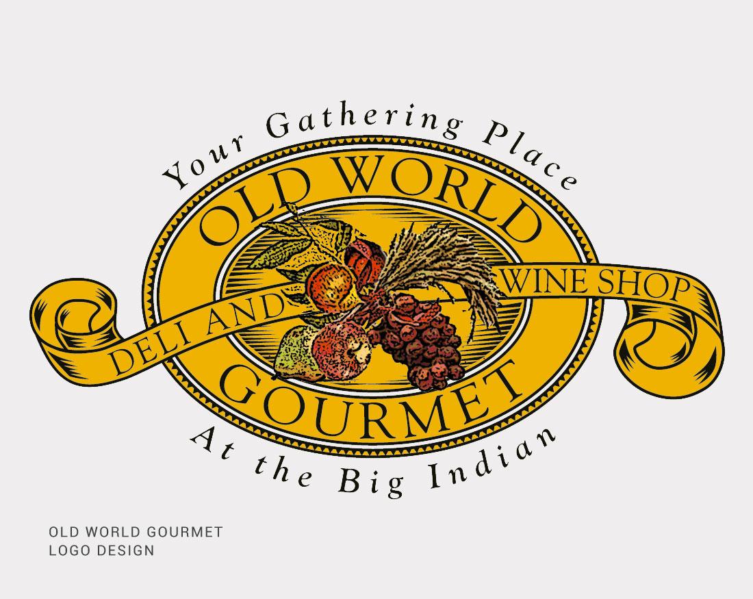 Old World Gourmet Logo Design