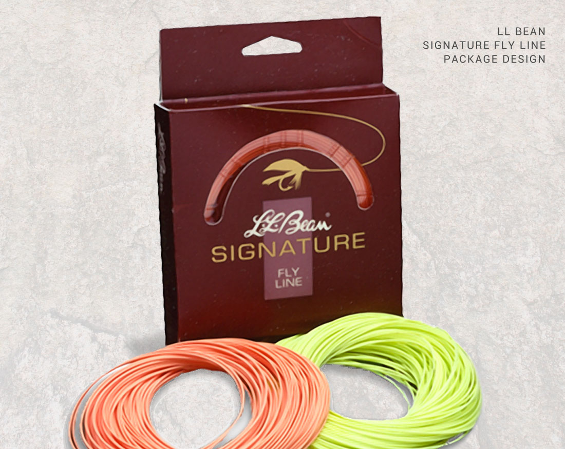 Package design for LL Bean Signature Flyline
