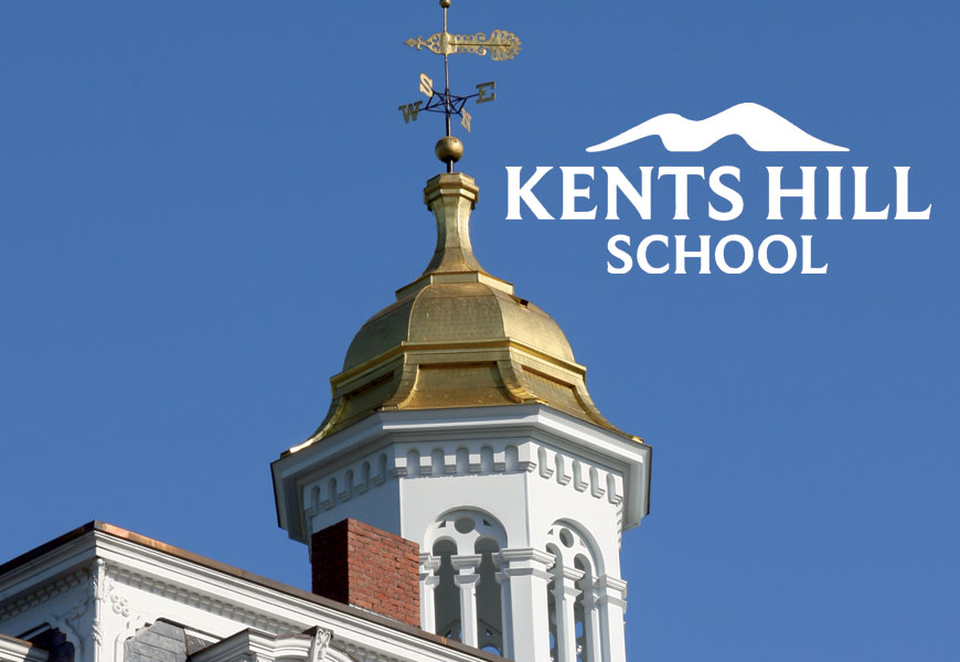 Print marketing for Kents Hill School