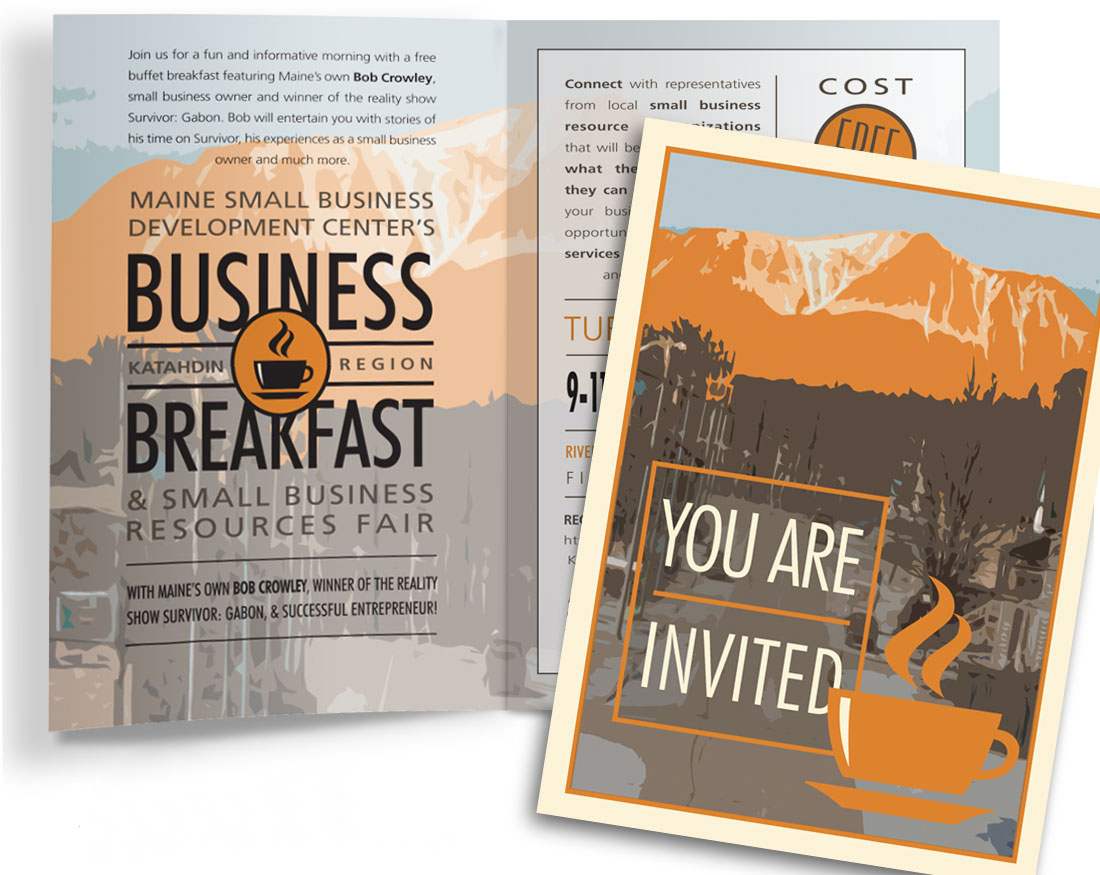 Maine SBDC Breakfast Invitation