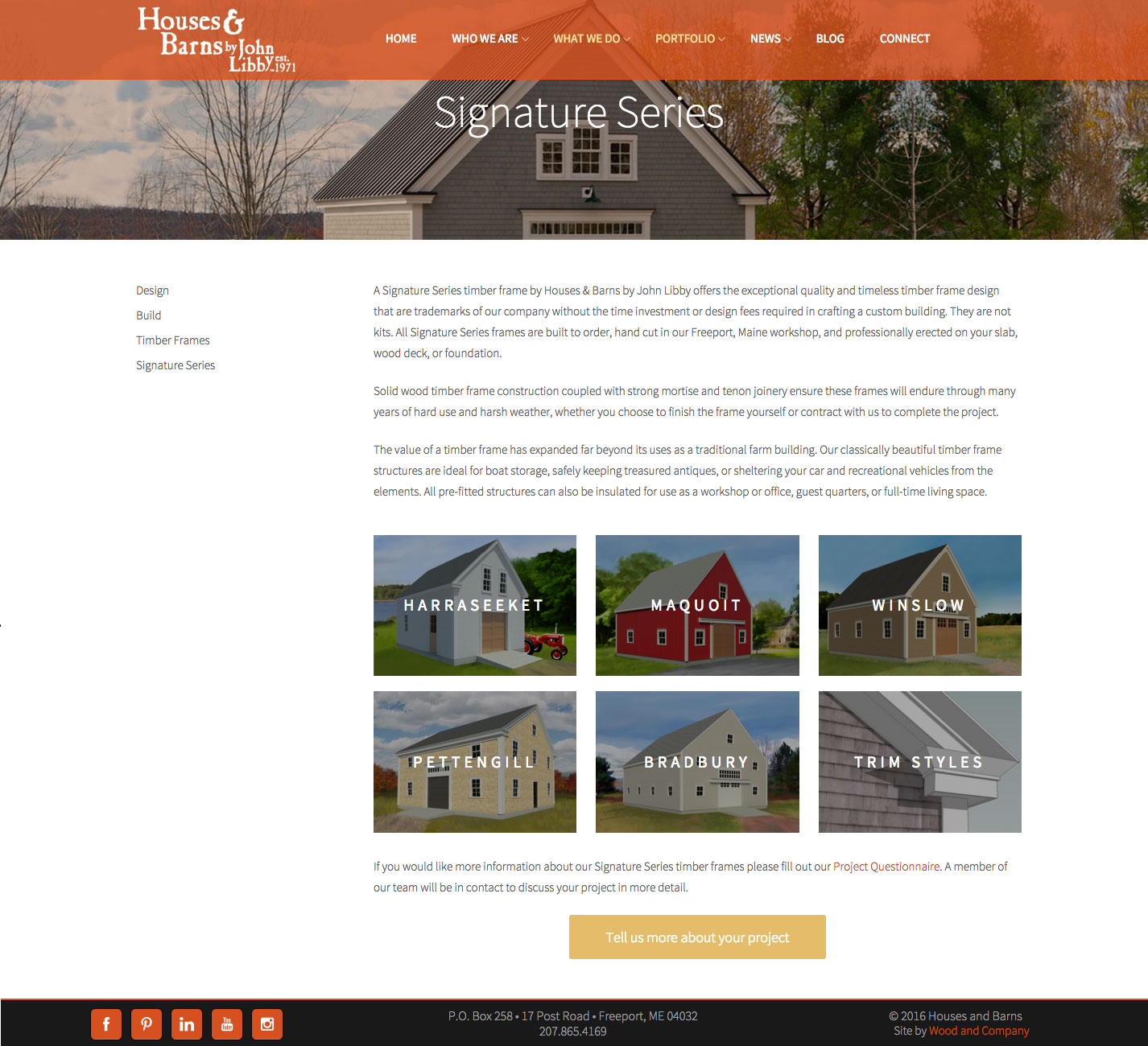Houses & Barns Signature Series