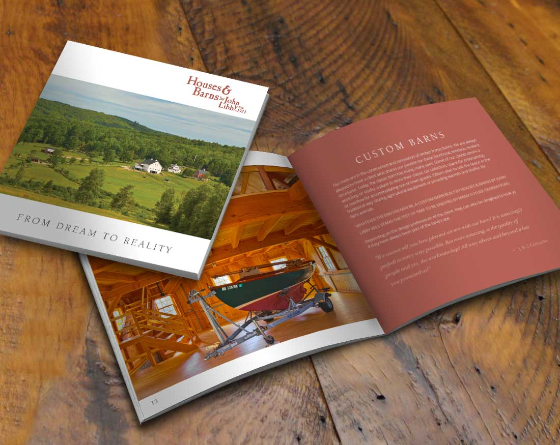 Houses and Barns Capabilities brochure