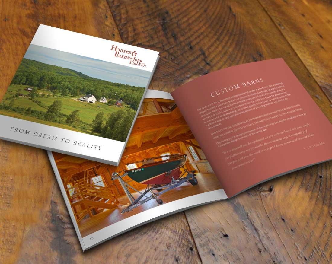 Houses and Barns Capabilities brochure