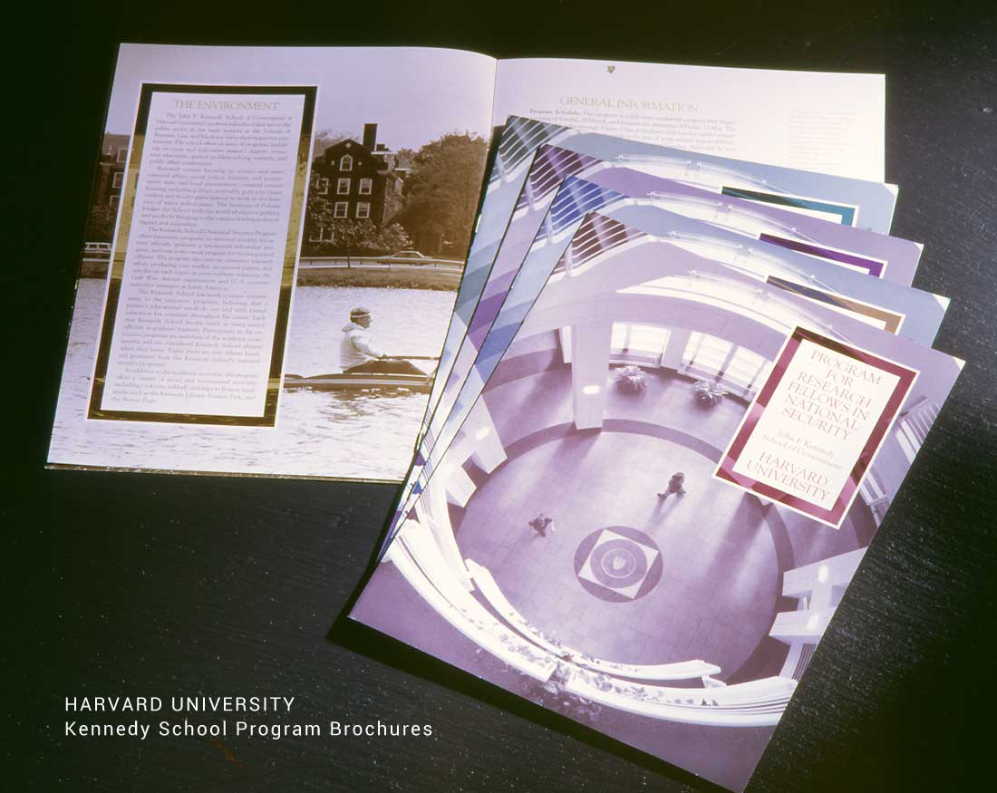 Kennedy School of Government Program Brochures